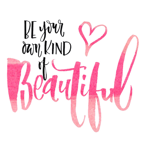Blog Be Your Own Kind of Beautiful