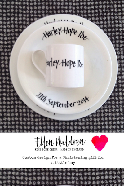 Christening Gift Custom Design