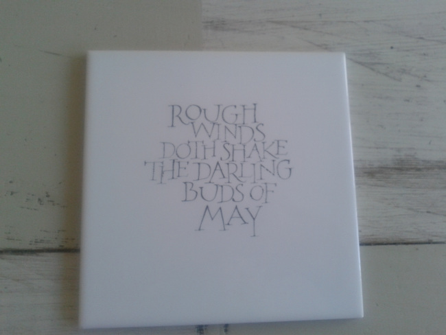 darling buds of may tile