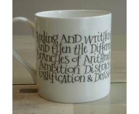 """Reeling and Writhing…"" Alice in Wonderland Mug"