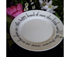 """This Happy Breed"" Plate"