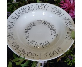 """Thou Art More Lovely"" Bowl – Limited Edition"